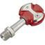Speedplay Ultra Light Action Pedalset Edelstahl rot